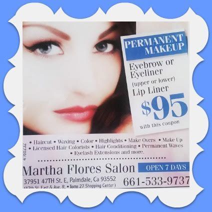 Martha Flores Salon - beauty salon en Palmdale, California