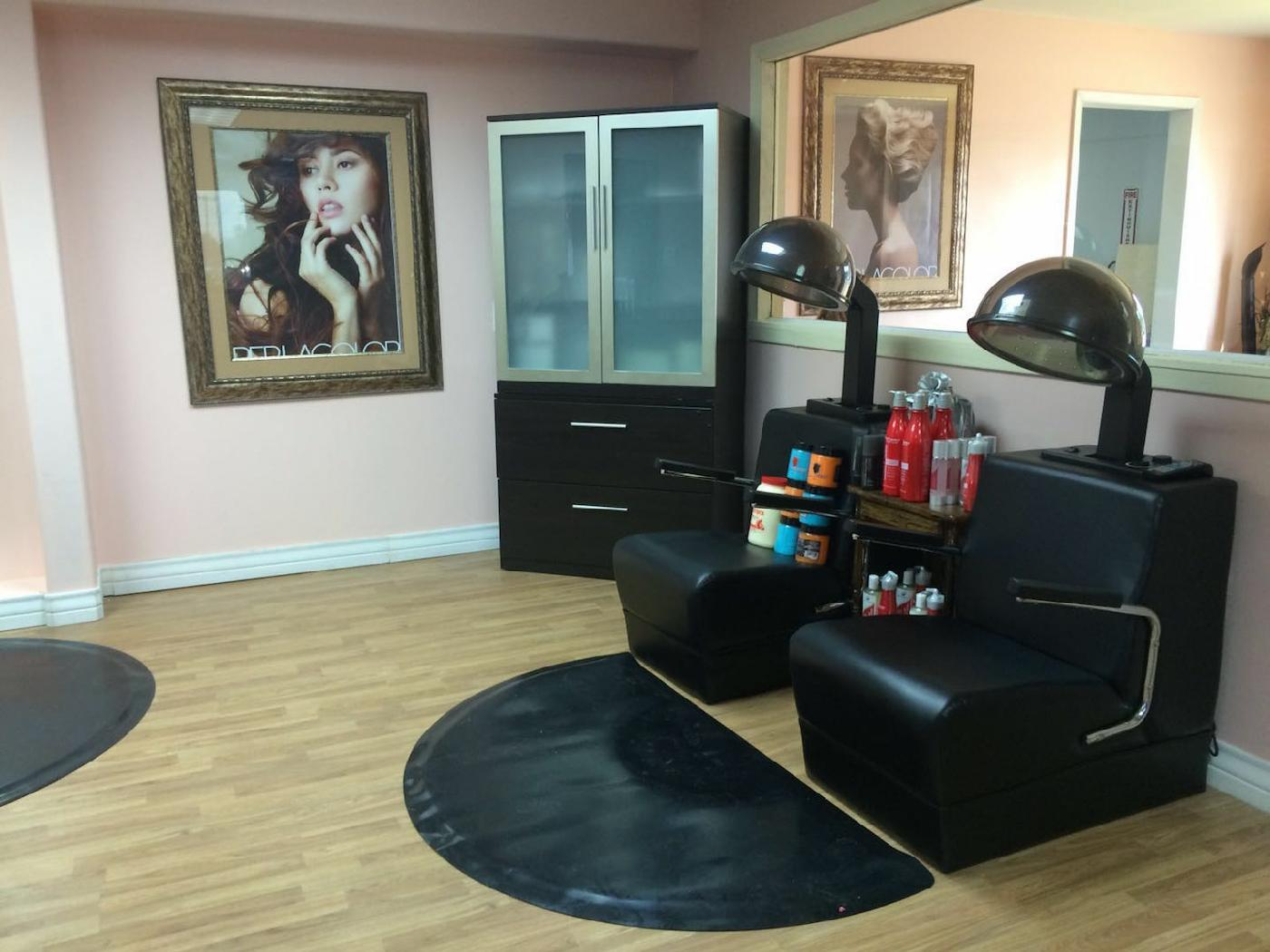 Argelia salon spa beauty salon and spa en mcallen texas for A creative touch beauty salon